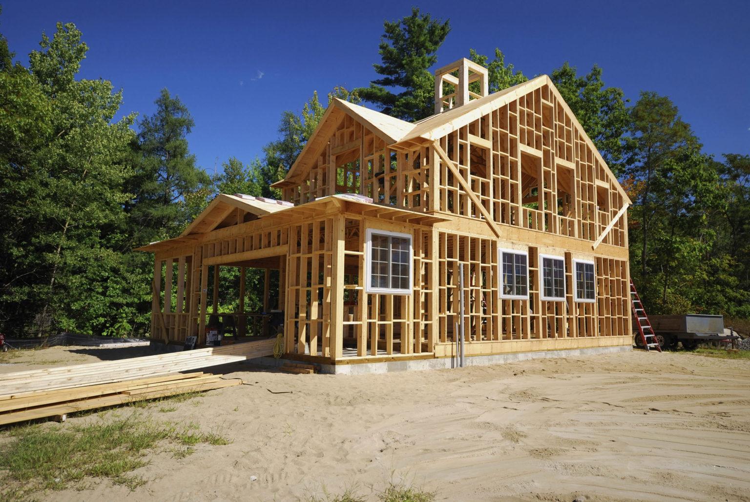 строительсьво дома